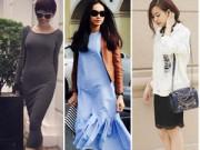 Thời trang Sao - Tuần qua: Hoàng Thùy Linh mặc quần ngắn đón gió Đông