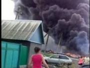 Video mới MH17 bốc cháy ngùn ngụt khi gặp nạn
