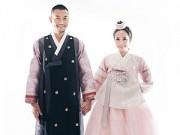 Làng sao - Quỳnh Nga - Doãn Tuấn ngọt ngào trong ảnh cưới ở Hàn Quốc