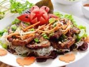 Bếp Eva - Bún thịt nướng thơm lừng đãi cả nhà