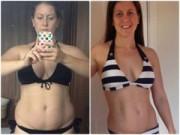 Bà bầu - Học mẹ sau sinh giảm 22kg trong 3 tháng