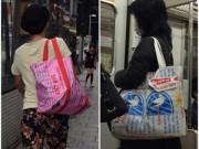 Xu hướng thời trang - Chuyện lạ: Túi xách cám Con Cò cực hot trên đất Nhật