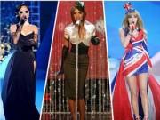 Thời trang - Muôn vẻ gợi cảm của sao ca nhạc tại Victoria's Secret show