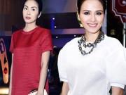 Thời trang - Thời trang giấu bầu bí cực khéo của sao Việt