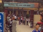 Tin tức - Sập cổng trường đè chết học sinh lớp 3