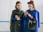 Thời trang - Tín đồ thời trang Á chuộng đồ thu đông rộng thùng thình