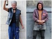 Thời trang - Người đàn ông vô gia cư nổi tiếng vì mặc cực chất
