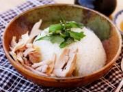 Bếp Eva - Cách làm cơm gà luộc thơm ngon