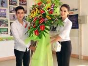 Hậu trường - Trương Hải Vân, Tùng Lâm về thăm trường cũ