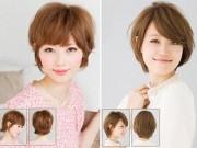 Tư vấn làm đẹp - Những mẫu tóc xoăn ngắn làm ấm mùa đông