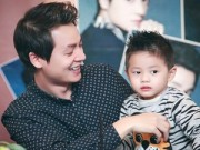 Âm nhạc - Con trai Đăng Khôi bảnh bao bên cạnh bố
