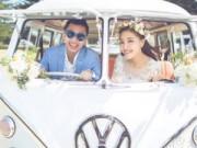 Làng sao - Toàn cảnh đám cưới hạnh phúc của Tiểu Châu Tấn