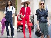 Xu hướng thời trang - 4 xu hướng sẽ khuynh đảo đường phố mùa xuân