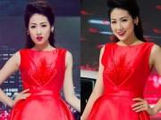 Thời trang Sao - Dương Tú Anh lộng lẫy như công chúa với sắc đỏ