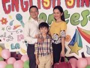 Làng sao - Kim Hiền hạnh phúc nhìn con trai làm MC song ngữ