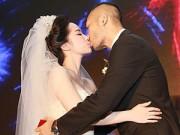 Làng sao - Doãn Tuấn hôn Quỳnh Nga say đắm trong ngày cưới