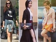 """Thời trang - Tuần qua: Mỹ nhân chân ngắn không hề """"xoắn"""" trước chân dài"""
