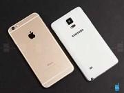 Góc Hitech - 6 điểm Galaxy Note 4 thua đứt iPhone 6 Plus