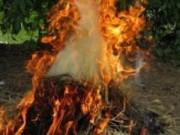 Tin tức - Bố chất rơm đốt con vì trộm vài gói mì tôm