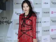 Người mẫu - Sao Hàn bị chê vô duyên vì mặc váy xẻ táo bạo