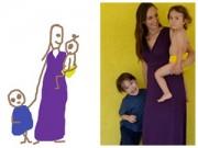 Làm mẹ - Hình ảnh hài hước về giấc ngủ của bà mẹ hai con