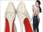 """Thời trang Sao - """"Chóng mặt"""" nhìn giày cao gót của mỹ nhân Việt"""
