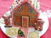 Bếp Eva - Bánh nhà gừng rực rỡ đón Giáng sinh