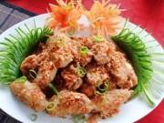 Thực đơn – Công thức - Thưởng thức cánh gà chiên tỏi ớt