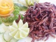 Bếp Eva - Bò khô xé sợi: Ăn vặt hay nhậu đều ngon