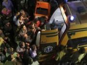 Tin tức - Ai Cập: Sập chung cư 8 tầng, 26 người thương vong