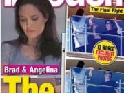 Làng sao - Bắt gặp Angelina Jolie cãi nhau với Brad Pitt