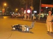 Tin trong nước - Xế hộp phóng nhanh gây tai nạn liên hoàn trong đêm
