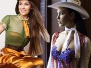 Thời trang - Lỗng lẫy như trang phục dân tộc Hoa hậu thế giới 2014