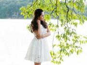 Làng sao - Bảo Trâm Idol xinh tươi, nữ tính trên phố Hà Nội