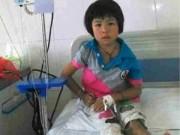 Tin quốc tế - Người cha nghèo 'xông khói' để chữa bệnh cho con
