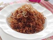 Bếp Eva - Thử làm thịt heo khô lạ miệng ăn nào!