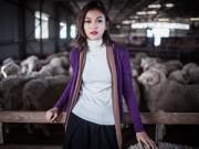 Tin tức thời trang - Len lông cừu – xu hướng xanh của thời trang 2014