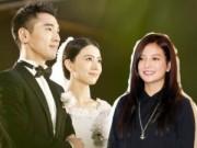 Làng sao - Triệu Vy giản dị tới mừng đám cưới Hựu Đình - Viên Viên