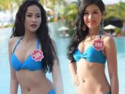 Thời trang - Bikini mát mắt của thí sinh hoa hậu Việt Nam