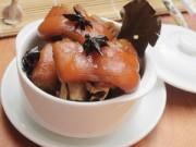 Bếp Eva - Móng giò hầm ngũ vị nóng bỏng lưỡi