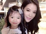 Làm mẹ - Con gái Hương Ga - Trương Ngọc Ánh cằm nhọn như hotgirl