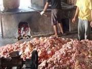 """Mua sắm - Giá cả - Yêu cầu xác minh thông tin """"mỡ bẩn, bì lợn thối"""" tại Hưng Yên"""