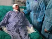 Vụ Mi171 rơi: Chiến sĩ duy nhất sống sót đã cử động được