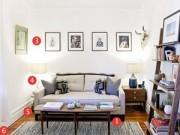 Mẹo vặt gia đình - Học lỏm 6 mẹo cho phòng khách nhỏ của nhiếp ảnh gia người Mỹ