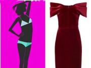 Thời trang - Chọn váy dạ tiệc che giấu nhược điểm cơ thể