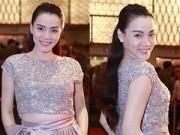 Hậu trường - Trang Nhung bầu bí 4 tháng vẫn tự tin khoe eo