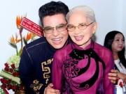Làng sao - MC Thanh Bạch khoe mẹ trong tiệc sinh nhật