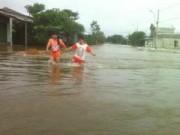 Tin trong nước - Huế: Ngập nhiều nơi, nguy cơ vỡ đê Nho Lâm – Nghĩa Lộ