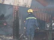 Tin tức - Hà Nội: Cháy lớn tại chợ Cầu Diễn trong đêm khuya
