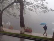 Tin trong nước - Hà Nội tiếp tục mưa rét, nhiệt độ thấp nhất 16 độ C